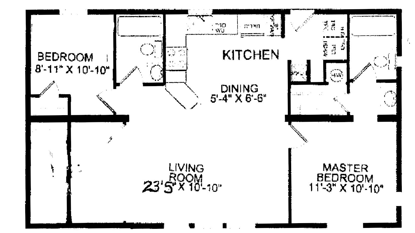 57 idleview Double wide floor plans with basement